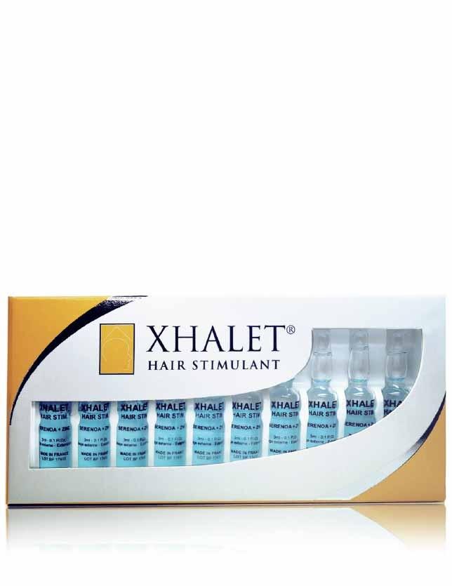 XHALET HAIR STIMULANT Ampoules