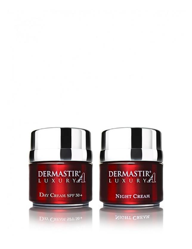 Dermastir Duo Pack – Crème teintée de jour + crème de nuit