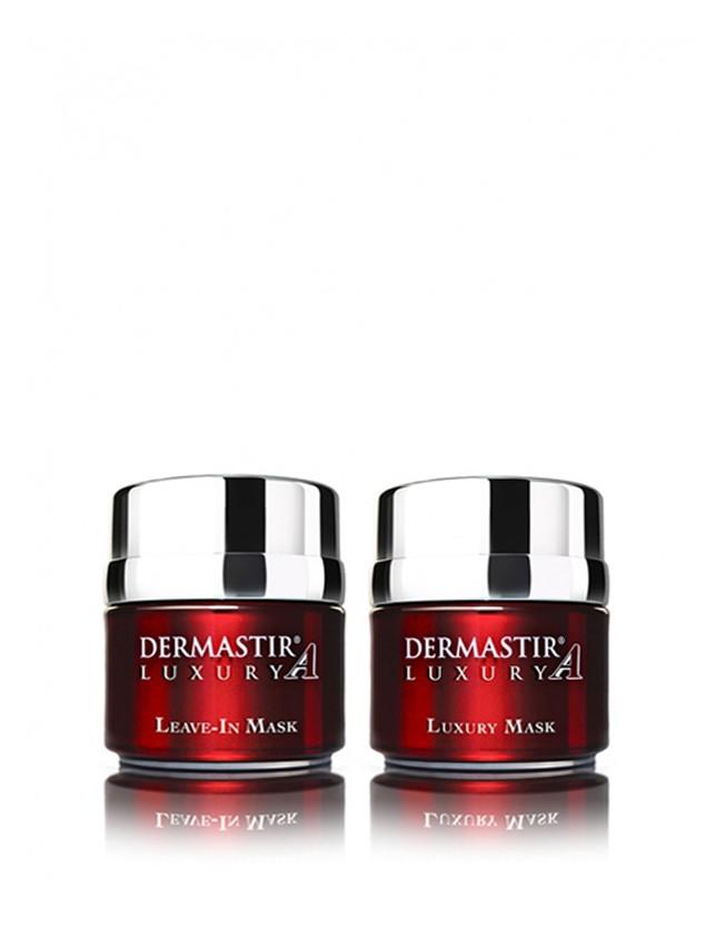 Dermastir Duo Pack – Peptide Mask + Zinc Mask