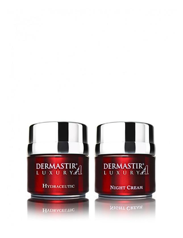 Dermastir Duo Pack – Crème Hydratante + Crème de Nuit