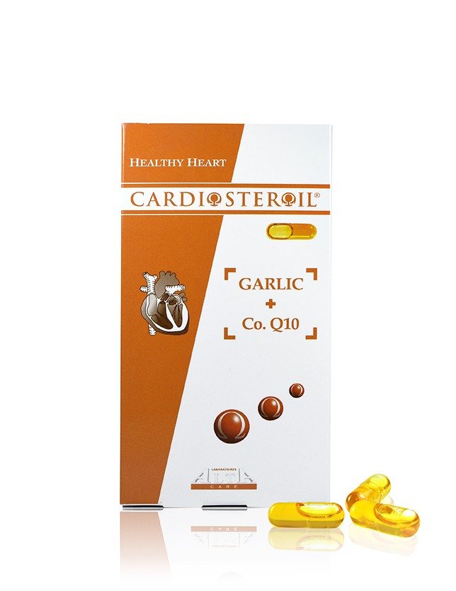 CARDIOSTEROL Garlic & Coenzyme Q10