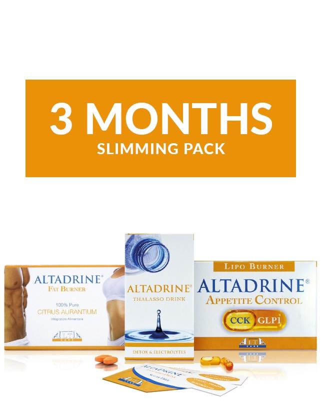 Altadrine 3 month slimming pack