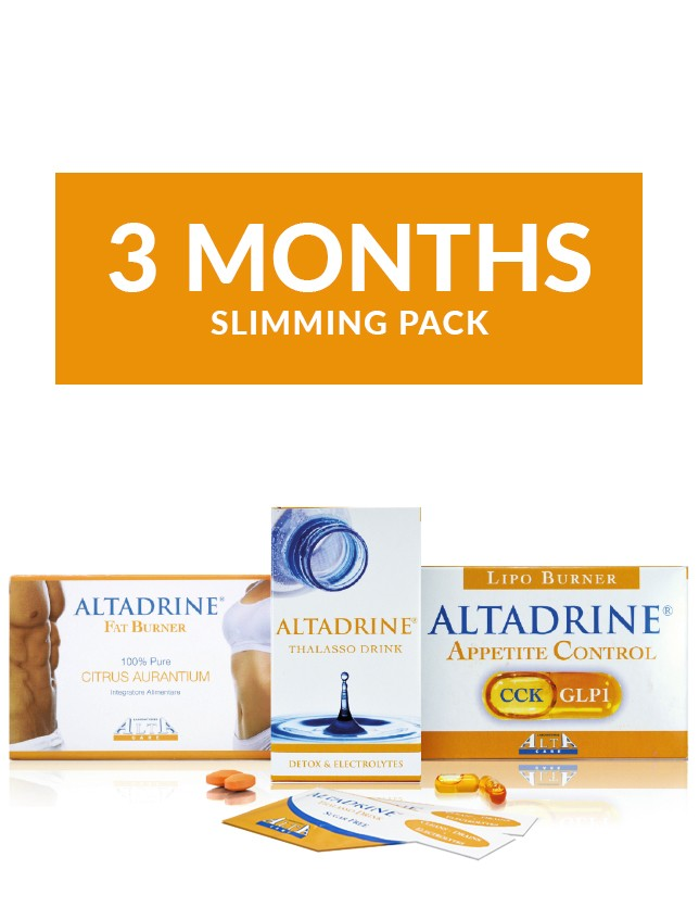 Altadrine 3 month slimming pack