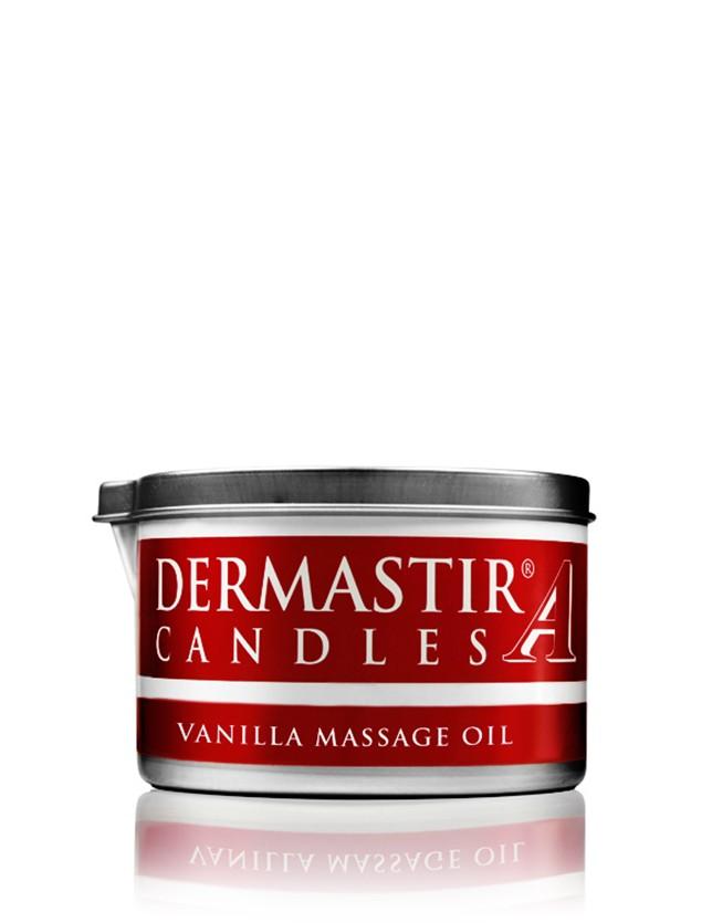 Dermastir Massage Candle Oil - Vanilla 150g