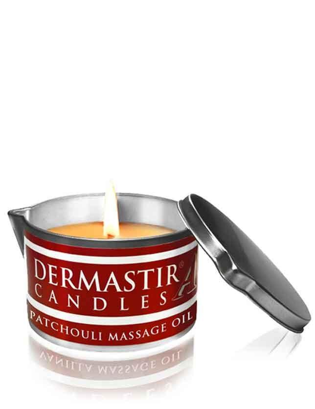 Dermastir Massage Candle Oil - Patchouli 150g