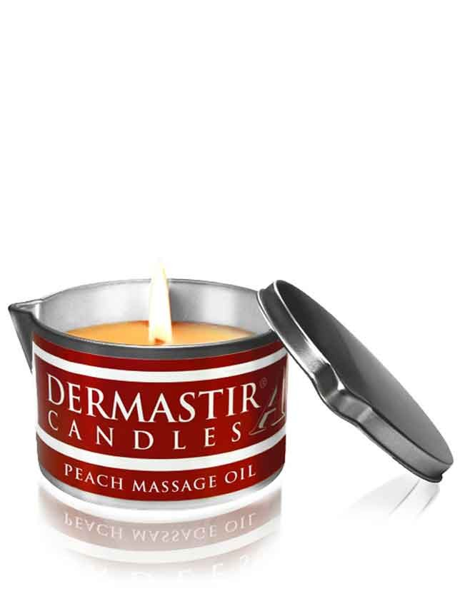 Dermastir Massage Candle Oil - Peach 150g