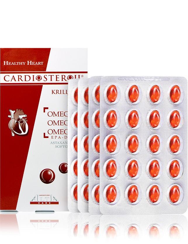 CARDIOSTEROL OMEGA 3 6 9 + Krill