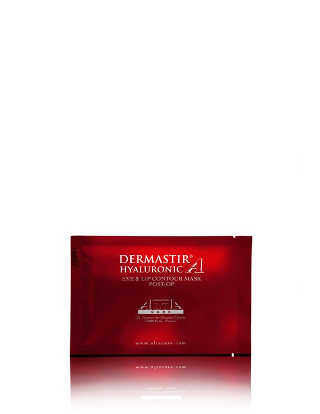 Dermastir Post-Op Maschera – Acido Ialuronico per Contorno Occhi e Labbra